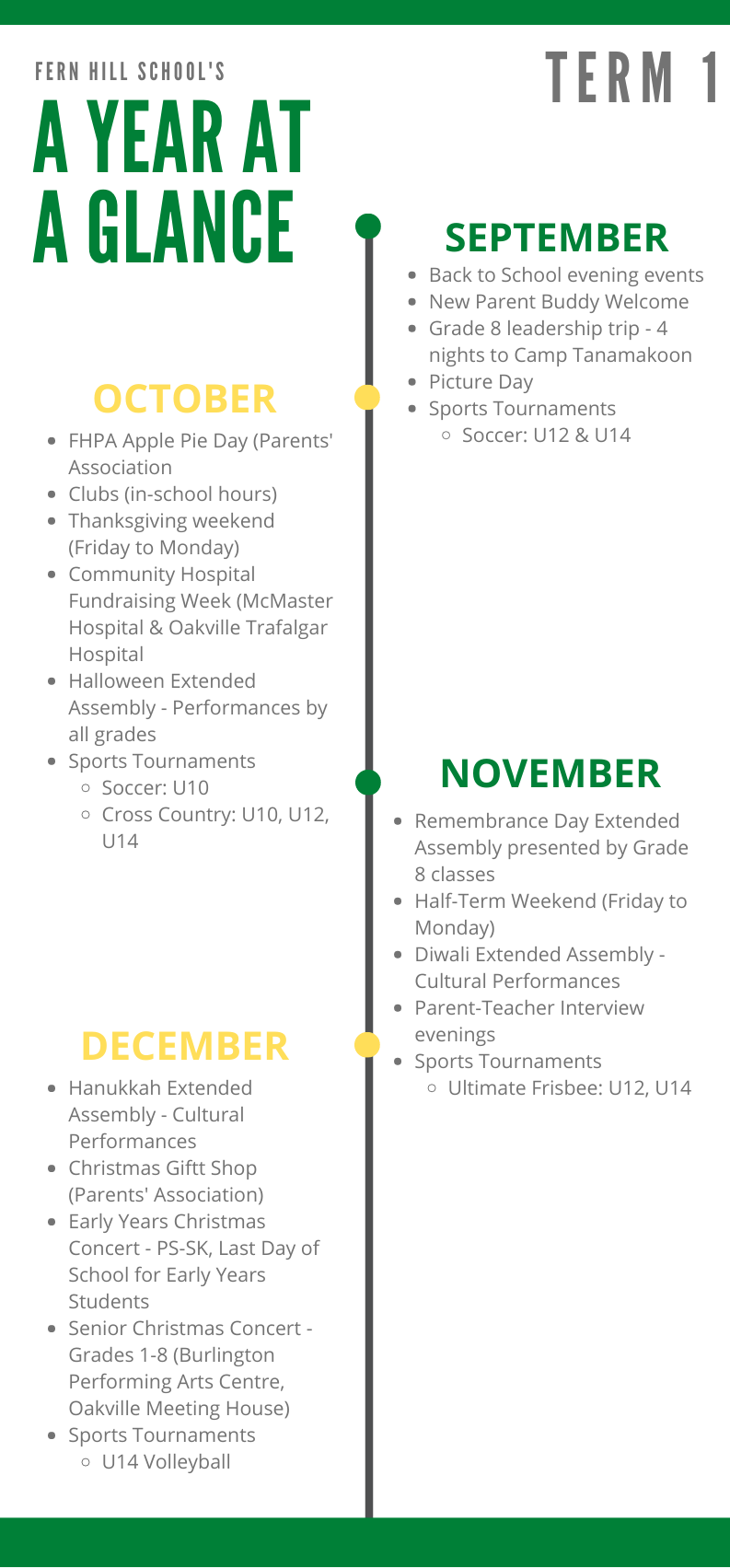 Year At A Glance - Term 1