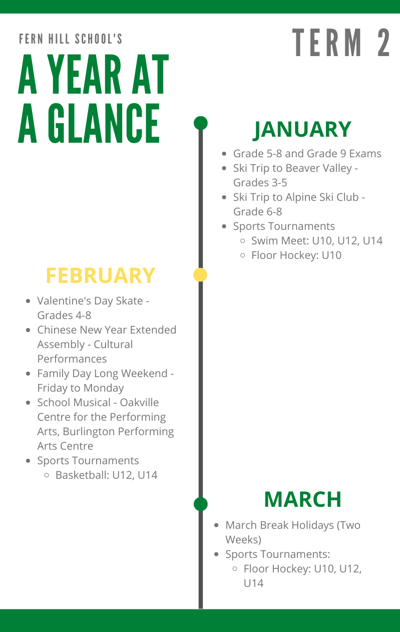 Year At A Glance - Term 2